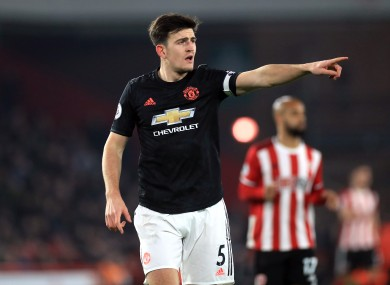 Harry Maguire was the headline signing for Manchester United last summer.