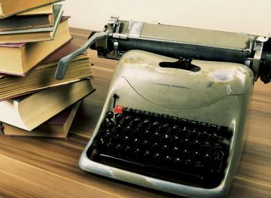 No typewriter required.