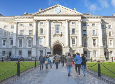 Trinity College Dublin is one of the institutions to have signed up the sexual misconduct reporting system.