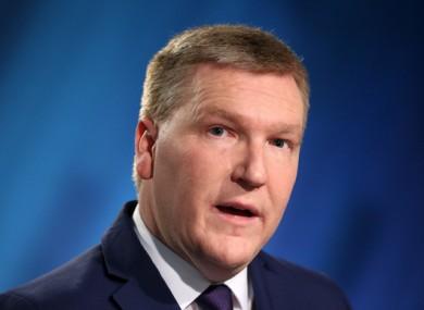 Fianna Fáil's Michael McGrath.