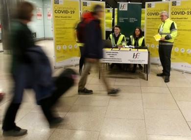 Environmental Health Service HSE team at Dublin Airport.