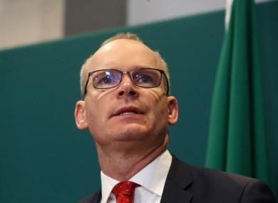 Tanaiste Simon Coveney