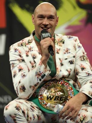 Tyson Fury (file pic).