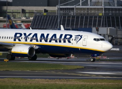 Ryanair has said it expects to ground all of its flights.