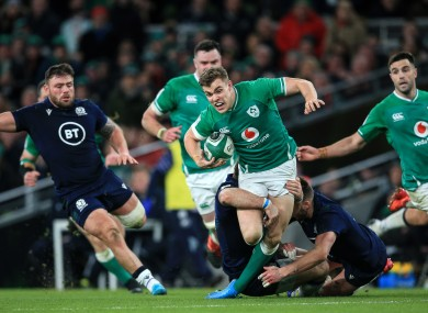 Ringrose will be back in October and Ireland are back in the hunt for glory.