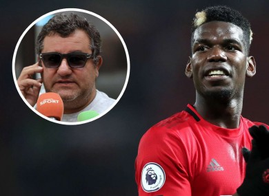 Paul Pogba has been contiually linked with a move away from Man United.