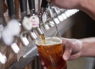 The Dail was told that some pubs around the country have refused to close.