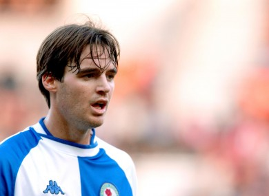 Former Blackburn striker Matt Jansen.