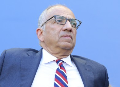 Ex-President of the United States Soccer Federation Carlos Cordeiro (file pic).