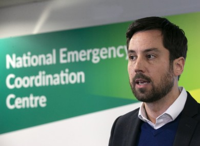 Eoghan Murphy said he was trying to identify ways to protect renters during the Covid-19 crisis.