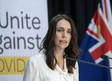 Prime Minister Jacinda Ardern (file photo).