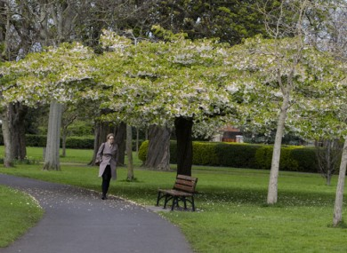 Some typically mild and changeable April weather is being predicted.