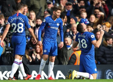 Chelsea players won't have their pay deducted at this time.