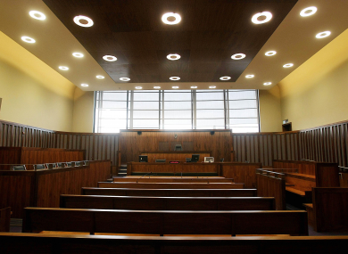 File photo of court room