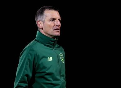 Jim Crawford was appointed as Ireland U21 manager last week.