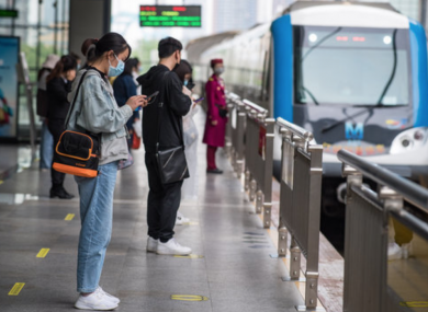 Life in Wuhan, where the outbreak began, is returning to a form of normality as bus and rail transit resumed operation this week.