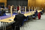 The counting of votes in Dublin Castle.