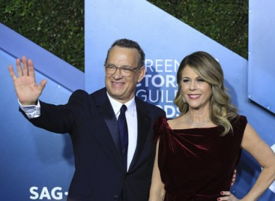 Tom Hanks and Rita Wilson both tested positive for Covid-19.