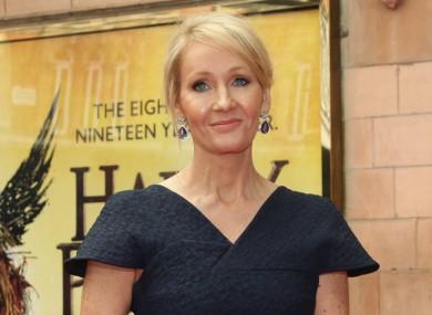 JK Rowling (file photo).