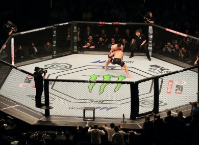 """UFC president Dana White says the event is """"as safe as it can possibly be""""."""