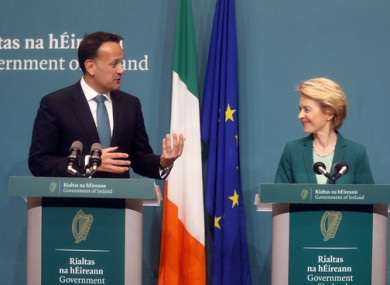 Leo Varadkar expressed support for coordinated approach at EU level to lifting restrictions on travel.
