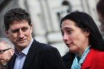 Green Party leader Eamon Ryan and deputy leader Catherine Martin