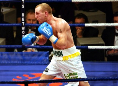 Ireland's Eamonn Magee pictured competing in 2002.