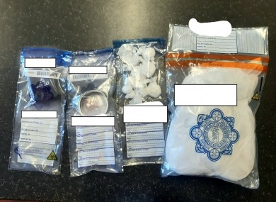The drugs which were seized.