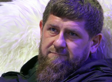 Ramzan Kadyrov, head of the Russian republic Chechnya.