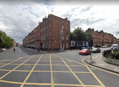 The junction of Mountjoy Sqare West and Gardiner Place. (File photo)