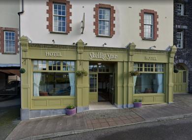 Former Skellig Star Hotel, Caherciveen, Co Kerry.