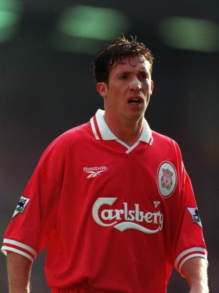 Robbie Fowler pictured during his Liverpool days.