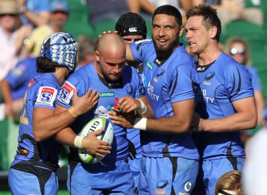 Western Force were controversially axed in 2017.