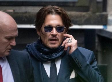Johnny Depp (file photo).