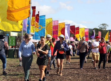 Scenes from Electric Picnic last year.