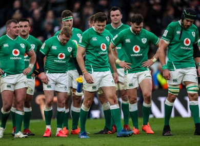 Ireland haven't played since losing to England in Twickenham in February.