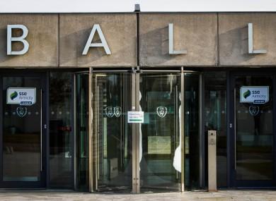 The doors at FAI HQ.