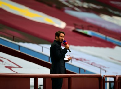 Sky's Jamie Redknapp reports from last night's game at Villa Park.