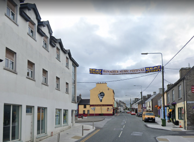 The town of Banagher in Offaly was one of those chosen for the project