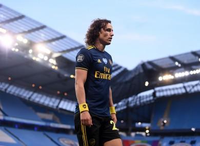 The eternal David Luiz.