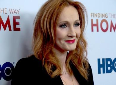 File image of JK Rowling.
