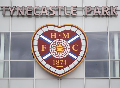 Hearts were relegated after a decision was made to conclude the season with immediate effect in April.