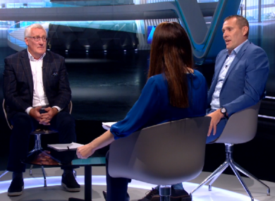 Pat Spillane called for the rethink on The Sunday Game with Joanne Cantwell and Ciarán Whelan.
