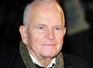 Ian Holm played the role of Bilbo Baggins in Lord of the Rings.