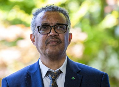 Tedros Adhanom Ghebreyesus, Director General of the World Health Organization