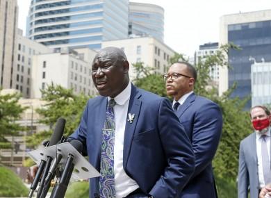 Ben Crump announced a civil lawsuit against the city of Minneapolis.