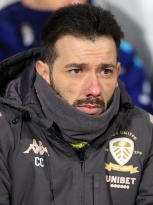 Carlos Corberan at Leeds United.