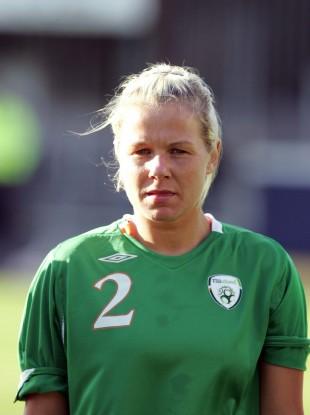 Elaine O'Connor won 54 caps for Ireland.