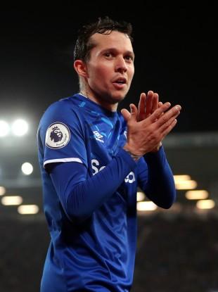 Opening up: Everton's Bernard.