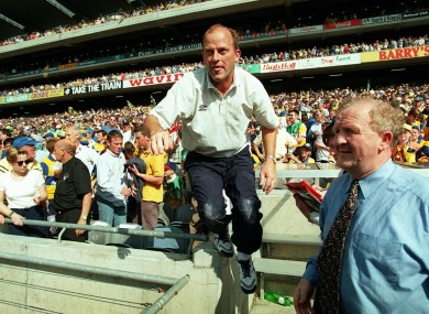 Anthony Daly's depiction of Ger Loughnane in 1998 was superbly chronicled.